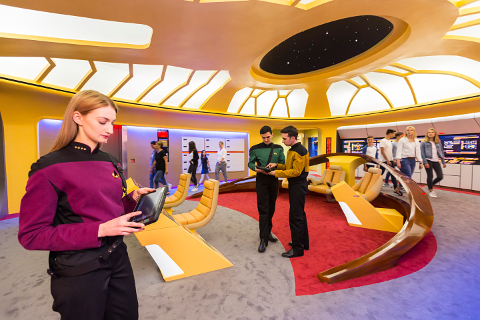 StarTrekOperationEnterprise Bridge