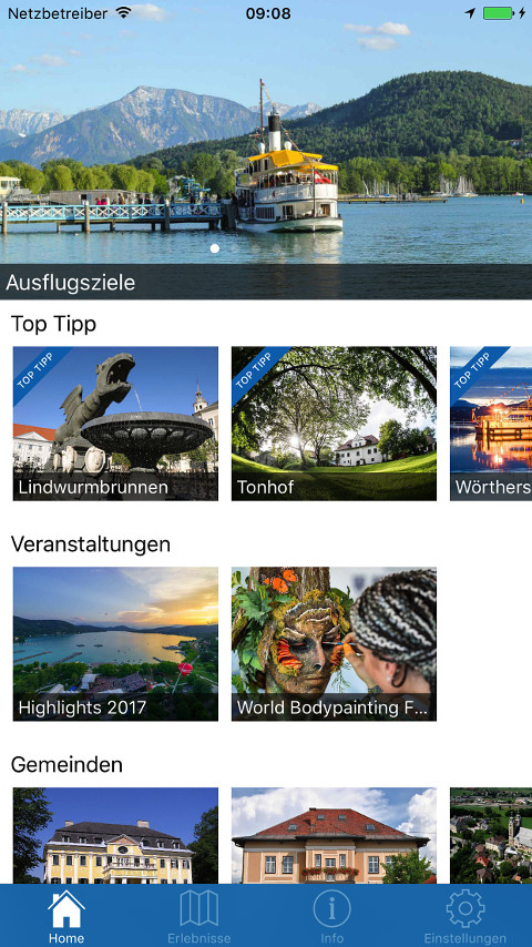 screenshot klagenfurt app 0